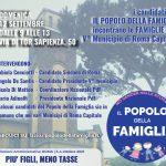 I candidati del Popolo della Famiglia incontrano le famiglie del V° municipio di Roma Capitale